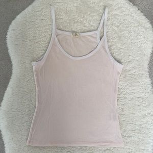 BRANDY MELVILLE Ribbed Tank Top - One Size